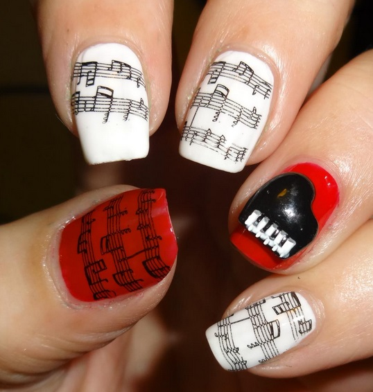 3d nail art piano charms 3d nail art piano charm designg prinsesfo Images