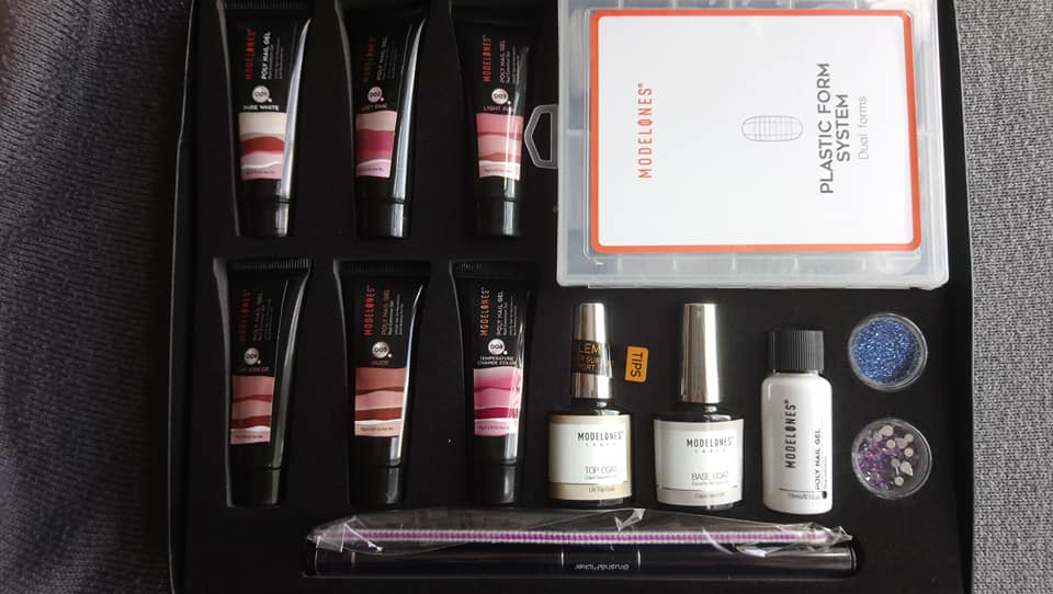 Modelones Poly Nail Gel Kit - different nail designs